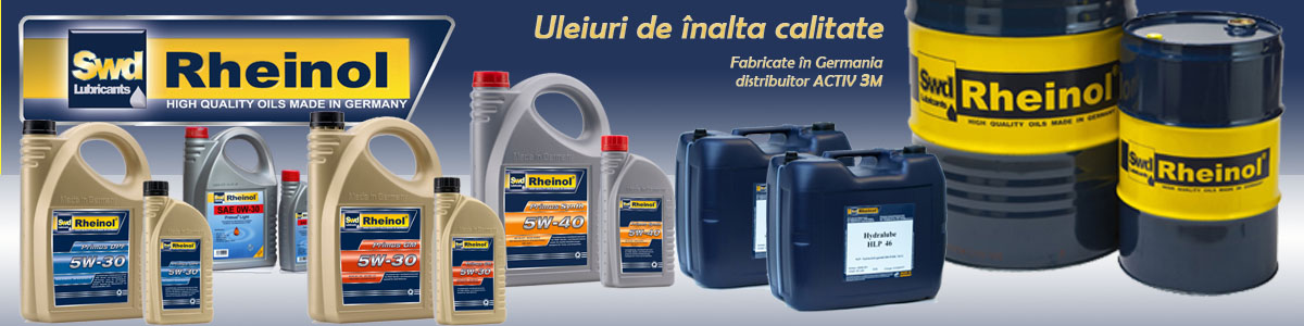 distribuitor Uleiuri Rheinol- made in Germany